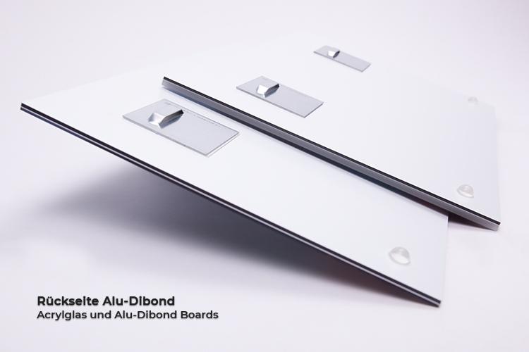 Rueckseite Alu-Dibond Detail Bild