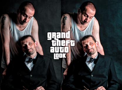 GTA Look Action Photoshop Download Grand Theft Auto Gangster