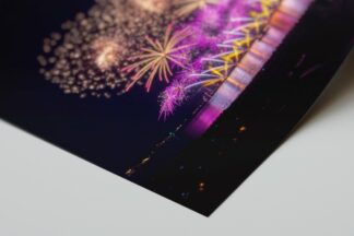 EchtFoto Foto Poster Abzug Cannes Dragon Fireworks 02